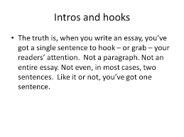 persuasive essays what makes these good introductions ppt  2 intros
