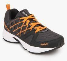 reebok mens running shoes. reebok run sharp grey running shoes men mens