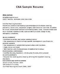 Certified Nursing Assistant Resume Examples Simple Certified Nursing Assistant Resume Example Free Template Job E