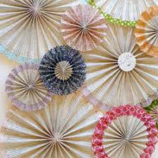 how to make paper fan decorations. washi tape paper fan backdrop how to make decorations