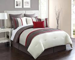 bedding sets red white and grey blue western comforter navy queen brown king size
