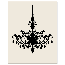 chandelier silhouette room ideas stitches hand within