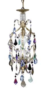 colorful chandelier lighting. Simple Chandelier PETITE BIRDCAGE MULTI COLORED CHANDELIER To Colorful Chandelier Lighting H