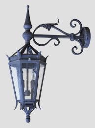 gothic iron lantern ex016n