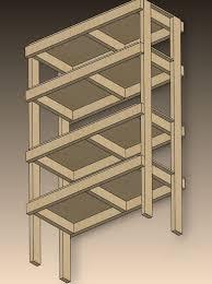 storage shelf plans. Wonderful Storage 2X4 Storage Shelves Plans  You Are Starting With 10 2 X 4u0027s And One 4u0027  8u0027 Section Of 12  Throughout Shelf N