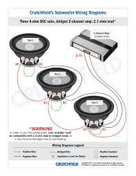 crutchfield subwoofer wiring diagram 4 channal amp wiring library subwoofer wiring diagrams and crutchfield