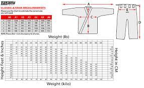 Tatami Belt Size Chart The Definitive Guide To The Bjj Gi Size Chart Attack The Back