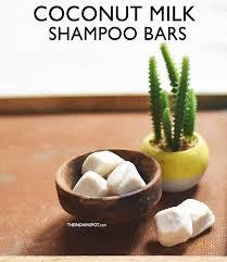 diy coconut milk shampoo bar