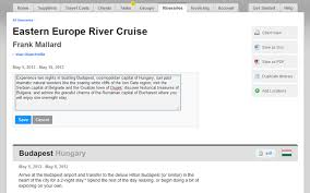 Trip Itinerary Builder Itinerary Software For Travel Agents Byt Agent