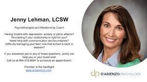 Relationship Coach Jenny Lehman, LCSW