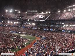 Rogers Stadium Toronto Seating Chart Rogers Centre Concert Seating Chart Interactive Map