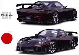 mazda rx7 2005. veilside 2005 fortune model conversion wide body kit rx7 fd3s mazda rx7