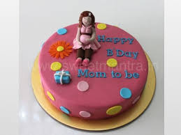 Small Personalized 3d Cake For Mom To Be Birthday Cake By Sweet