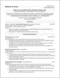 Resume Samples For Internships Resume Examples For Internships Undergraduate Student Resume