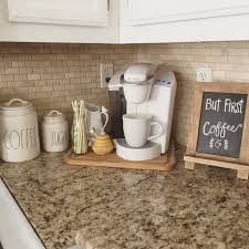 Small Station Kitchen Counter Decorations, Decorating Kitchen Counters,  Organizing Kitchen Counters, Cabinet Top