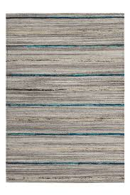 details about wool rug hand woven stripe design lines pattern grey blue red terra