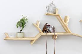 oak tree bookshelf solid oak branch shelf tree shelf
