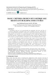 Basics Of Structural Dynamics And Aseismic Design Pdf Download Pdf Basic Criteria Design Of Earthquake Resistant Building