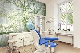 dental office decor. Beautiful Dental Office Decor Can Be Brightened Up With Some Floral Murals C