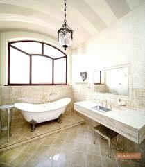 vintage beige color bathroom with a golden sanitary engineeringperiod lighting fixtures period ideas