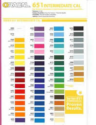 Oracal Vinyl Color Chart Pdf 23 Best Vinyls Images Vinyl Crafts Cricut Vinyl Vinyl