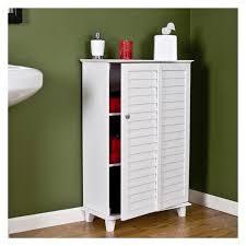 bathroom floor storage cabinets. bathroom cabinets sauder caraway floor cabinet soft white storage | 687 x