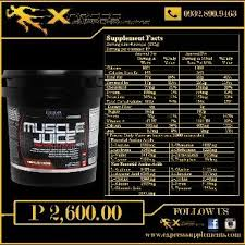 whey protein muscle juice revolution 2600 ultimate nutrition exercise and