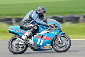 Motorcyclist Derek Glass still leading pack at 50 - The Courier