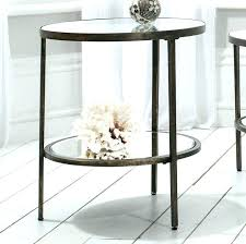 sidetables glass metal side table round bedside gold coffee small green outdoor colorful silver me