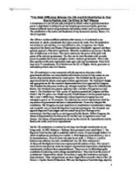 the main difference between the uk and us constitution is that one  page 1
