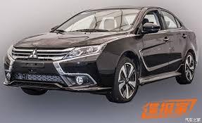2018 mitsubishi cars. brilliant cars mitsubishi lancer gets drastic facelift in china looks like the outlander in 2018 mitsubishi cars h