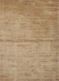 jaipur re solids handloom solid pattern bamboo silk taupe tan area rug