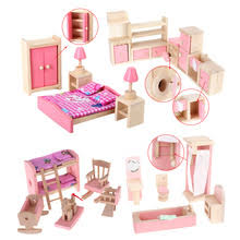 Popular Dollhouse Furniture Bedroom Buy Cheap Dollhouse Furniture