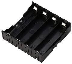 ZRM&E <b>3pcs</b> 4 Slots 18650 <b>Battery Storage</b> Box <b>Plastic</b> DIY ...