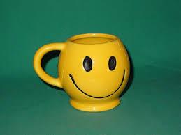 Smiley Face Coffee Mug Vintage Mccoy Smiley Face Coffee Mug Tea Cup Usa 1970s Dark Smile