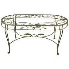 salterini wrought iron furniture. Salterini Wrought Iron Oval Dining Table At 1stdibs And Chairs Uk Furniture B