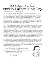 cool remembering martin luther king worksheets for students  martin luther king jr biography essay martin luther king jr early