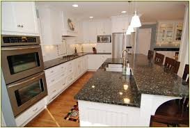 Granite For White Cabinets Verde Butterfly Granite With White Cabinets Home Design Ideas