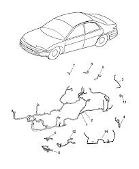 2002 chrysler concorde wiring body accessory diagram 00i61273