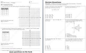 tables graphs equations worksheet key tessshlo table graph equation worksheet