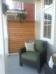 Front Porch privacy screen contemporary-porch
