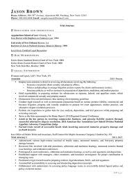 Legal Resume Examples Resume Professional Writers