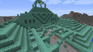 Minecraft Ocean Monuments Water Temple Youtube