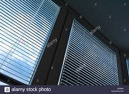 Venetian Blinds Window As A Solar Protection Heat Protection Sky