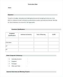 Word Format Resume Simple Resume Format For Freshers In Word