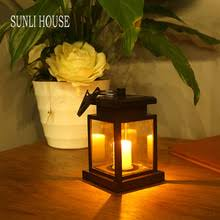 outdoor candle lighting. perfect lighting sunli house retro solar candle lights outdoor led solar lamps  waterproof decorative lighting intended