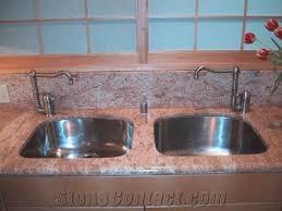 ivory brown pink granite countertops