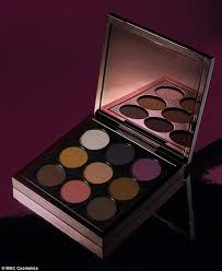 eyeing up the collection includes an eye shadow palette focusing on deep browns and golds