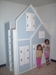 playhouse furniture ideas. full height playhouse loft bed a false front on bunk could be made to look like anything or even slide added for more fun furniture ideas