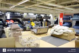 furniture selection at an ikea store in canada DWW9R0